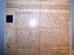 click to view detailed description of An early 19th century English court document issued by the Lord Bishop of Durham and Lord of the Manor of Northallerton April 23, 1808
